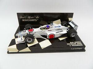BAR Honda Showcar 2000 Jacques Villeneuve #22 MINICHAMPS 1/43 F1 IN Box