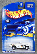 HOT WHEELS ~ 1965 CORVETTE CONVERTIBLE ~ WHITE