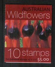 Australia 2005 Wildflowers sa bklt-Attractive Flower Topical (2400b) Mnh