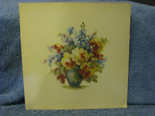 Bouquet In Vase Print- Yellow Roses - M. Black- USA