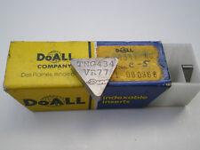DoALL  CARBIDE INSERTS TNG434 TNG 434 C5 NOS