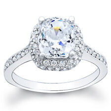 4.20ct Cushion Diamond Engagement Ring EGL Cert H/VS1