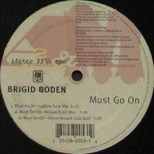 BRIGID BODEN - Must Go On - William Orbit Rmxs - A&M