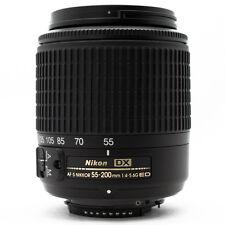 Nikon de zoom Nikkor 55-200 mm f/4-5.6 g ed AF-S DX objetivamente