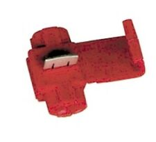 25 PACK - QUICK LINE SPLICERS/ADAPTERS RED 18-22 GAUGE #600-25PK