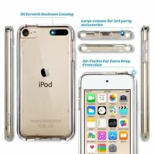 Clear TPU Gel Case for Apple iPod Touch 6th 5th Generation touch Cover + Glass
