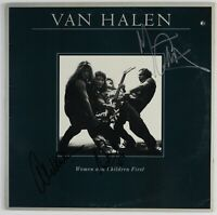 Eddie Van Halen JSA Signed Autograph Women And Children First Album Vinyl +