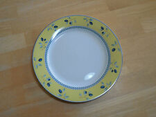 "Royal Doulton BLUEBERRY Salad Plate 7 1/2"" Yellow 1 ea              8 available"