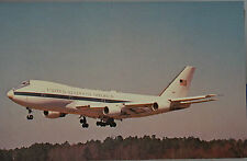 Mary Jayne's Railroad Boeing E-4A United States Air Force Postcard