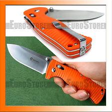 Authentisch Messer GANZO G720-O Klappmesser / 440C / G10 / Axis-Lock / Orange