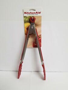 KITCHENAID EMPIRE RED NYLON TIPPED TONGS
