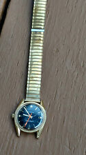 vintage Caravelle Black dial wind up  watch