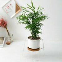 Flower Pot Metal Rack Plant Care Display Holder Stand Garden Decorative