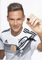 Josjua KIMMICH - DFB-Nationalspieler, DFB-Karte WM 2018, Original-Autogramm!