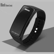 New Fashion Men Women Silicone LED Sport Bracelet Touch Digital Wrist Watch B TR