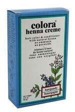 Colora Henna Creme Hair Color Burgundy, 2 oz (Pack of 2)