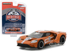 2017 FORD GT BROWN #3 RACING HERITAGE TRIBUTE SERIES 1 1/64 GREENLIGHT 13200 F