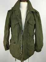 VTG US Army Korean War Green Jacket Shell Field M-1951 Mens sz S Regular 50s