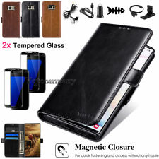 For Samsung Galaxy S7 Edge Phone Case Leather Card Wallet Flip Stand Cover Pouch