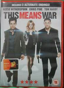 This Means War (DVD, 2012)