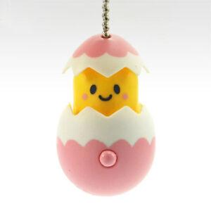 Gudetama Lazy Egg Tell me PAKATTO PVC Keychain Figure Charm ~ #D Pink @85248