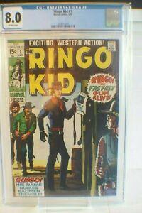 RINGO KID 1 CGC 8.0 Off White Pages.