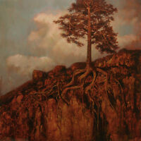 "BEAUTIFUL ORIGINAL MARK HARRISON ""Sentinel"" Tree trees root PAINTING"