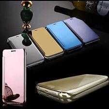 ULTRA SOTTILE ALLUMINIO SPECCHIO Custodia retro rigido per Samsung Galaxy iPhone