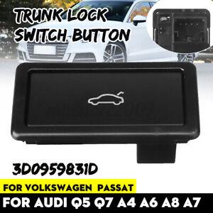 Trunk Lock Switch Button Trunk Lid Lock For Audi Q5 Q7 A4 A6 A8 S8 VW Skoda