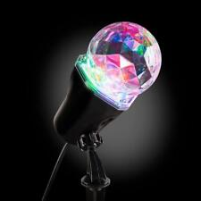 Gemmy AppLights LED Lightshow Kaleidoscope Projection single Spotlight Stake NEW