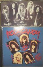 2CD LOT ROCK CANDY SUCKER FOR A PRETTY FACE CD + RAQUEL CD indie AOR hair metal