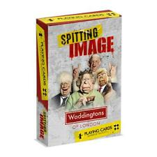 Spitting Image Waddingtons Number 1 Playing Cards Game