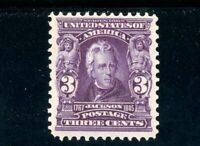 USAstamps Unused VF-XF US Serie of 1902 Jackson Scott 302 OG MNH PO Fresh