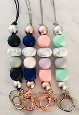 Teacher Lanyards / Silicone bead lanyards