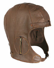 Motorrad-Helme aus Leder