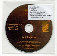 (IW322) Joshua Burnside, Holllllogram - DJ CD