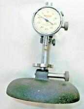 Starrett No 654 Indicator Stand Adjustable Resting Pad Fine Vertical Adj Usa