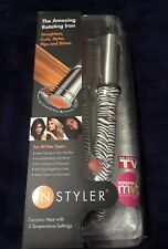 InStyler Original Rotating Hot Iron, 1-1/4 Inch, white zebra - free shipping-