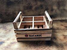Bacardi Wooden Glasses Carrier