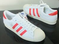 Adidas Superstar Shoes Trainers Uk Size 5  Cq2477  White / Red