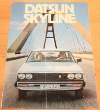 Prospekt Datsun Skyline 1979