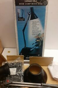 Retro Swing Arm light  /Bench /Angle arm Lamp.  never used