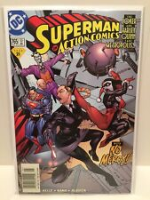 Action Comics #765 (DC Comics) Rare Newsstand Variant NM+ 9.6 Or Better