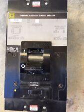 Square D Lal36400Mb 400 Amp 3 Pole Circuit Breaker 600 Vac 250 Vdc Lal Lal36400