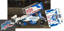 Cd_Sc_105 #1s Logan Schuchart Priority Aviation 2018 Sprint Car 1:64 Decals