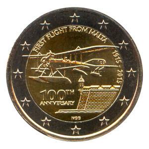 2 Euro Münze Malta 2015 Erster Flug Gedenkmünze Sondermünze