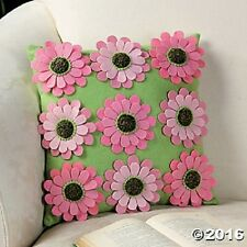 Set Of Two Flower Pillow Home Decor