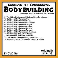 Danny Padilla's Secrets of Successful Bodybuilding (13 Dvd Set)