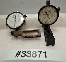 2 Starrett Dial Indicators (Inv.33871)