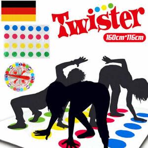 Spaß Twister pädagogisches Spielzeug Game Pad für Kinder Erwachsene Bewegt NEU